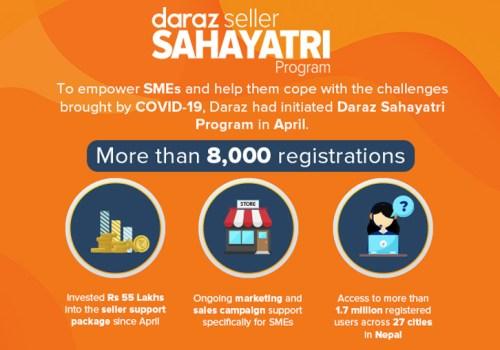आठ हजार एसएमईहरू दराज सहयात्री कार्यक्रममार्फत अनलाइन सर्न सफल