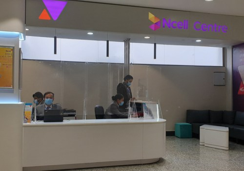 New Ncell Centre at Tribhuwan International Airport