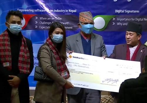क्यान इन्फोटेक २०२० मा सहभागी उत्कृष्ट स्टार्टअप 'होम मेड नेपाल' पुरस्कृत