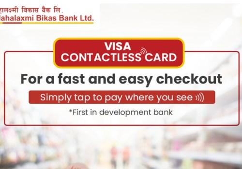महालक्ष्मी विकास बैंकद्वारा भिसा कन्ट्याक्टलेस कार्ड सेवा सञ्चालनमा