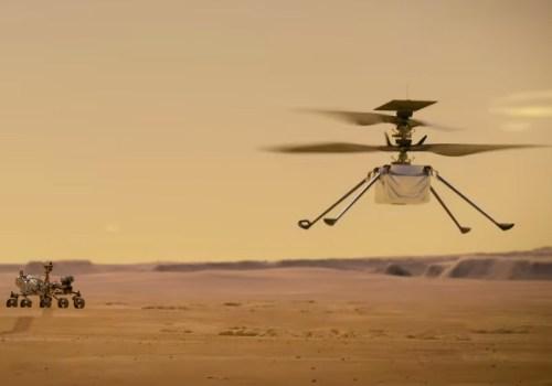 नासाले यहि अप्रिलमा मंगलग्रहमा पहिलो हेलिकप्टर उडान गर्ने