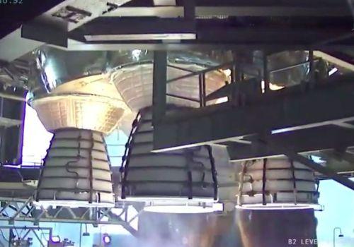 चन्द्रमामा मानिसलाई पुर्याउने सबैभन्दा शक्तिशाली रकेटको सफल परीक्षण
