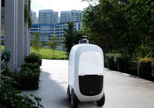 सिंगापुरमा सामान ढुवानी गर्न रोबोटको प्रयोग