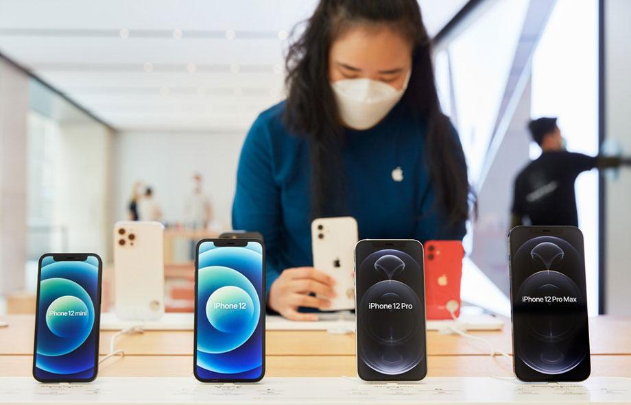 एप्पल ओएलइडी स्क्रीनहरूको सबैभन्दा ठूलो ग्राहक हुँदै, आईफोन १३ का सबै मोडलमा प्रयोग हुने