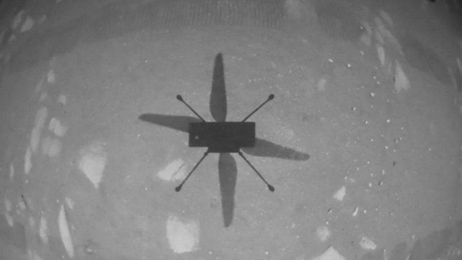 पहिलो पटक मंगल ग्रहको सतहमा हेलिकप्टर उडान सफल