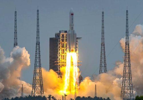 चीनको कार्गो क्राफ्ट सफलतापूर्वक स्पेस स्टेशन मोड्युलमा डक गरियो