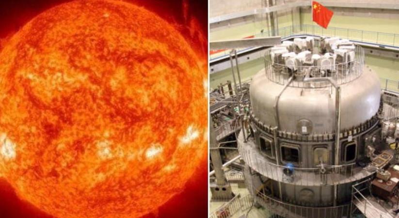 चीनले तयार पारेको कृत्रिम सूर्य वास्तविक सूर्यभन्दा १० गुणा धेरै शक्तिशाली !