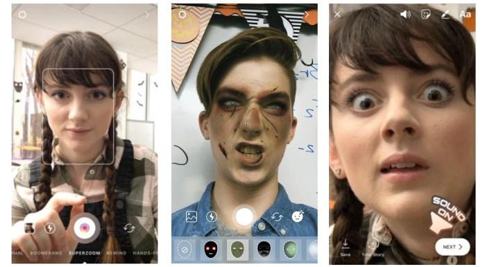 Instagram Halloween face filters