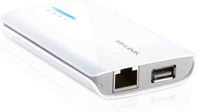 TP-Link N150 Portable Router (TL-MR3040): Best for portability