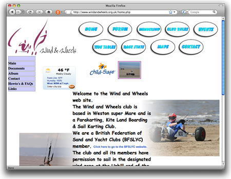Lovely Vintage Retro Website from 2009….
