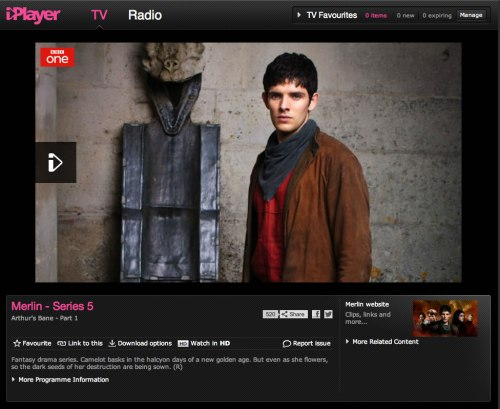 No magic with BBC iPlayer