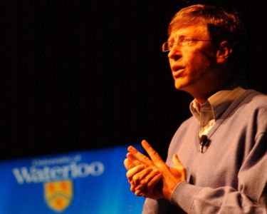 Bill Gates @ the University of Waterloo