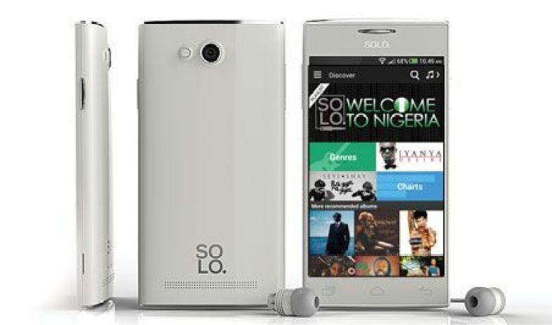 Solo S450 smartphone