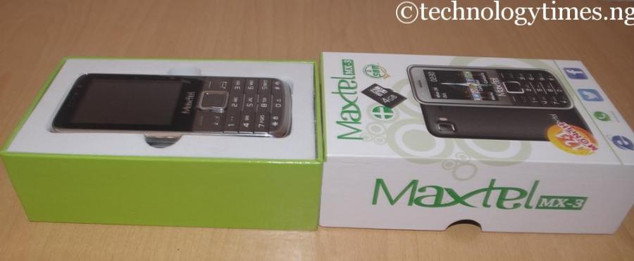 """The dual-SIM Maxtel MX-3 will sell below N4000 per unit to put an affordable phone that features all the top applications loved by mobile phone users """"in the hands of Nigerians"""" and also compete with the leading global brands, according to the promoters of the Nigerian mobile phone brand"""