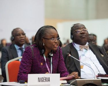 Dr Omobola Johnson, Minister of Communication Technology of Nigeria at the ITU forum