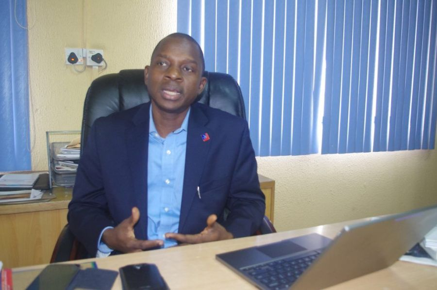 Segun Akano, Managing Director of Upperlink Limited        Photo credit: Kolade Akinola/Technology Times
