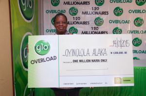 Globacom: How 20 millionaires emerged in Overloaded promo 10