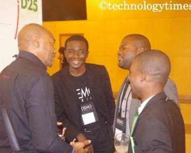 Mba-Uzoukwu, Vice Chairman of Demo Africa at Demo Africa 2014 held in Lagos