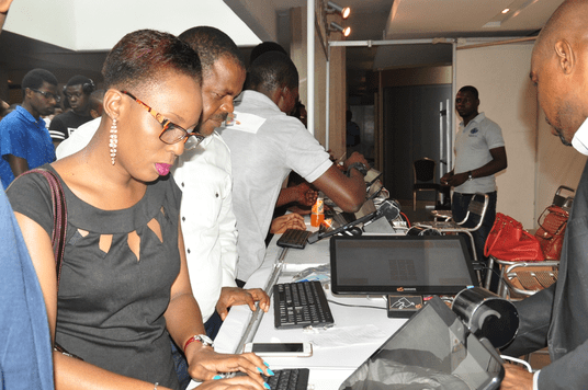 Attendees at TECH+ Conferences and Exhibitions held in Lagos