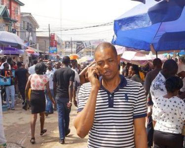 Ikeja Computer Village in Lagos, Nigeria