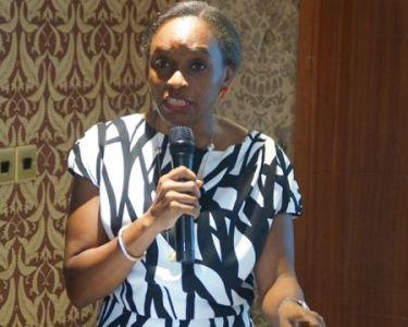 Dr Omobola Johnson at the A4AI meeting