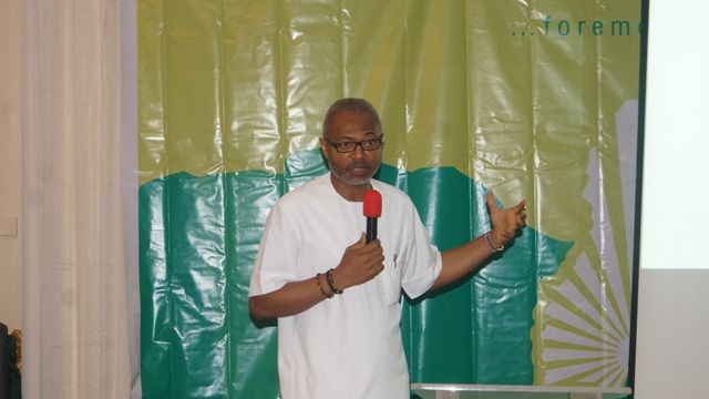 Mr Emeka Mba, Director General of National Broadcasting Commission (NBC) at the event