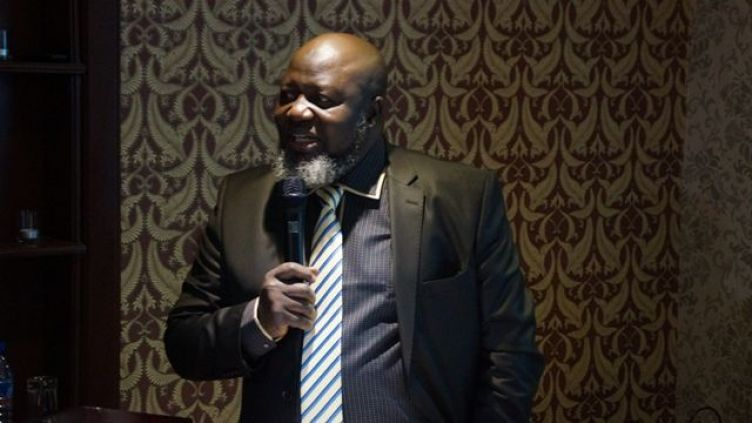 Barrister Adebayo Shittu, the new Minister of Communications, speaks at the A4AI Stakeholders Forum held today in Lagos
