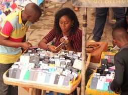 Buying and selling  underway at Ikeja Computer Village, Nigeria's largest technology market cluster         Photo: Kehinde Shonola/Technology Times
