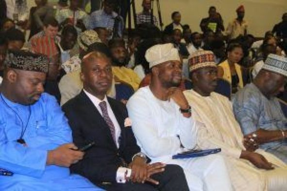 Cross Section of Participant at the interactive session with the senate president