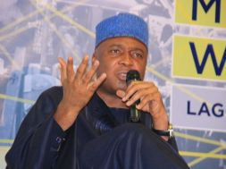 SENATE PRESIDENT, BUKOLA SARAKI, WHILE MAKING HIS REMARKS AT THE SOCIAL MEDIA WEEK (41)