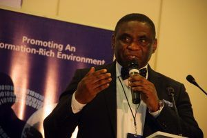 Tony Ojobo, Director, Public Affairs NCC, speaks today at the Lagos Social Media Week