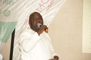 Mr Olajide Mofolabomi, General Manager Product and services Ntel