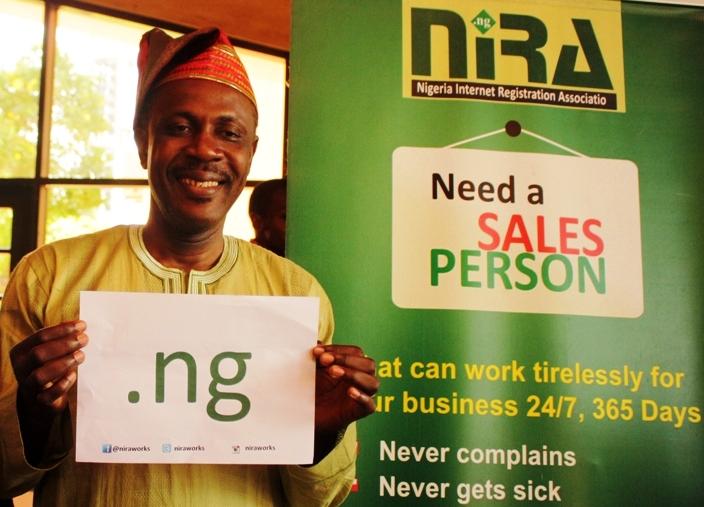 Revd.Sunday Folayan, President Nigeria Internet Registration Association(NIRA)