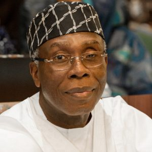 Chief Audu Ogbeh, Minister of Agriculture