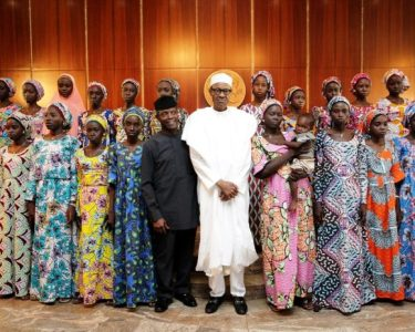 president-muhammadu-buhari-receives-the-21-chibok-girls-released