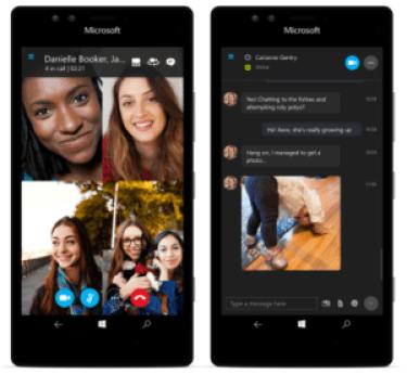 Skype group video call comes to Windows 10 mobile