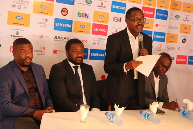 Tunji Adeyinka, Managing Director, Connnect marketing, during his remarks (2)