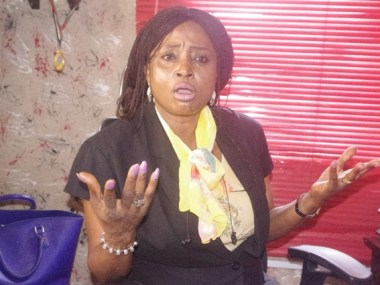 Photo files of Technology Times showing Mrs Adenike Shittu, CEO of Mojoy