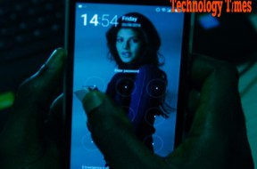 Technology Times file photo shows a mobile phone user seen using a smartphone