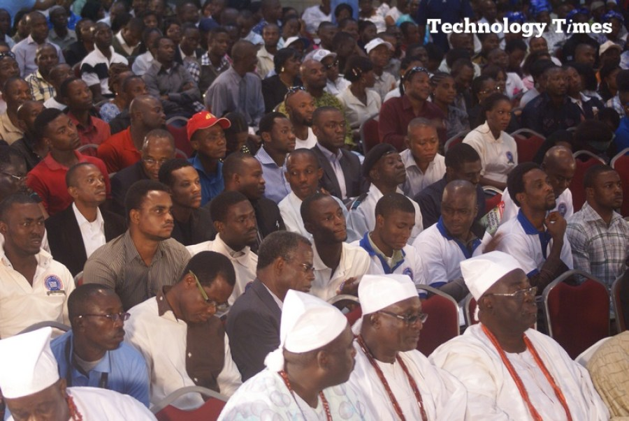 Technology Times photo file shows attendees at a telecoms event in Lagos. Author opines that security lapses often underscored risks associated with physical security breaches and the potentially disastrous consequences in critical infrastructures such hotels, banks, conference centres, among others.