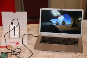 Innjoo Leap | World's slimmest laptop hedges 'power bank' charging feature 17
