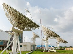 NIGCOMSAT Ground station in Abuja
