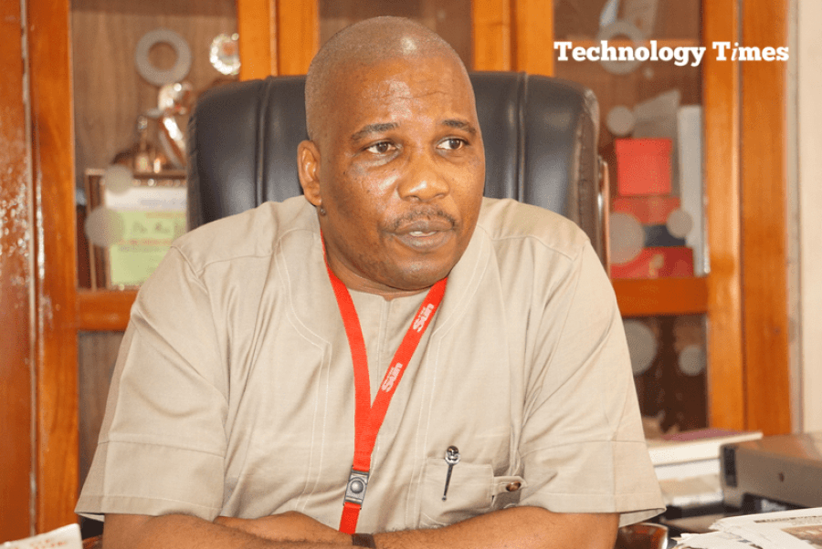 "The road ahead: Mr Eric Osagie, Managing Director/Editor-in-Chief of The Sun Newspapers says, ""We believe that we can push a couple of others leading us aside because The Sun is a very aggressive brand."" Photo by Technology Times."