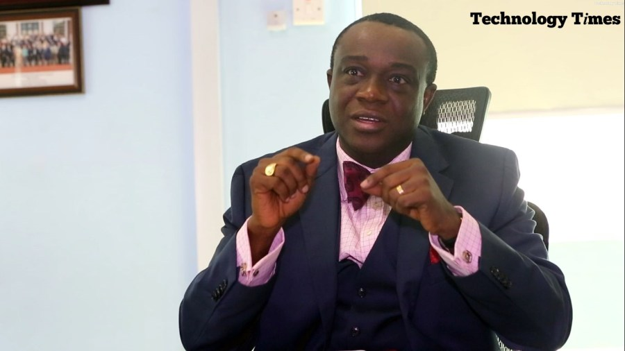 Dr Yele Okeremi, the newly-elected President of Institute of Software Professionals of Nigeria (ISPON) seen during an interview with Technology Times in Lagos