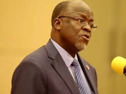 Dr. John Pombe Joseph Magufuli, President Tanzania