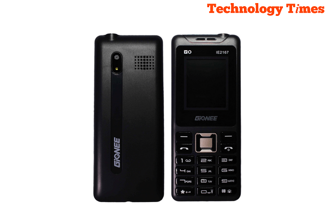 The Gionee IE2167 mobile phone