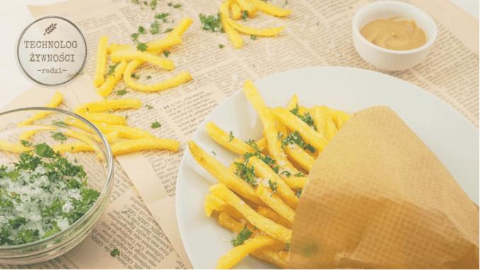 zdrowie zdrowe frytki domowe