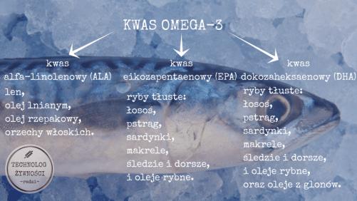 podział omega 3