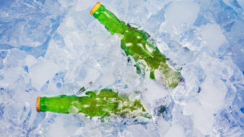 butelki lód