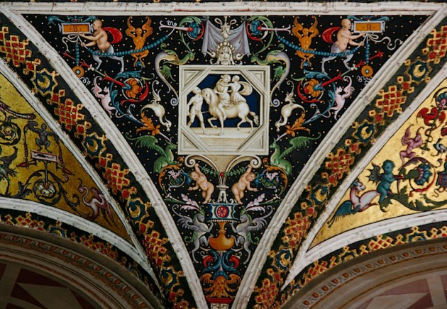 Siena Duomo Library Ceiling, 2